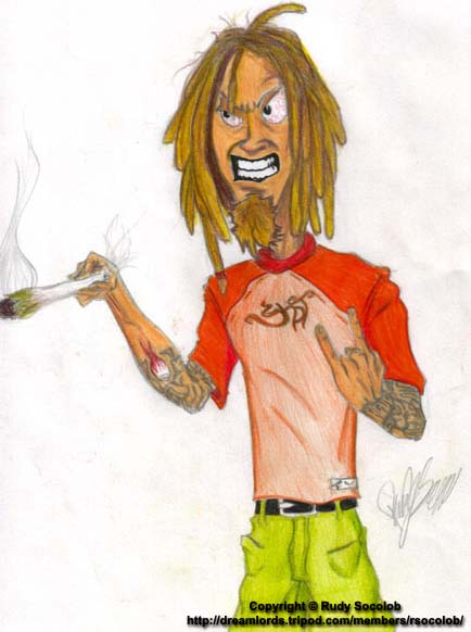 Cartoon Characters With Dreads : Online portfolio of rudy socolob cartoon character